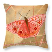 Survival Butterfly Throw Pillow