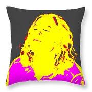 Surya Namaskar Throw Pillow by Eikoni Images
