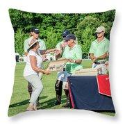 Susan Accepting Prize Throw Pillow