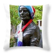 Susan B Anthony Throw Pillow
