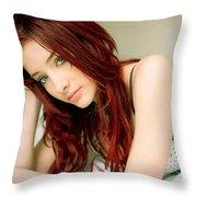 Susan Coffey Throw Pillow