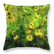 Susan's Field Throw Pillow