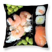 Sushi Day Throw Pillow
