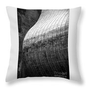 Suspended Wave Throw Pillow