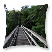 Suspension Bridge 3 Throw Pillow