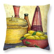 Sustenance Throw Pillow