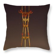 Sutro Tower Throw Pillow