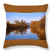 Sutter Buttes From Hughes Road Throw Pillow