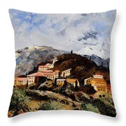 Suzette Provence  Throw Pillow