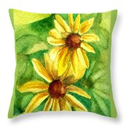 Suzies Throw Pillow
