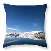 Svalbard Reflection 1 Throw Pillow