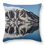 Svalbard Reflection 2 Throw Pillow
