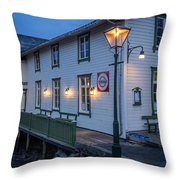 Svinoya Rorbuer Throw Pillow