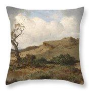 Swabian Landscape Throw Pillow