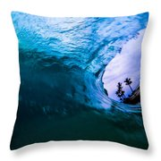 Swallow Buildings Whole Throw Pillow