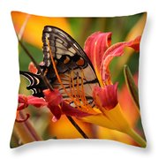 Swallowed Up Throw Pillow