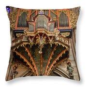 Swallows Nest Grand Organ Throw Pillow