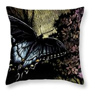 Swallowtail 1 Throw Pillow