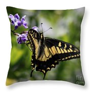 Swallowtail Butterfly 2 Throw Pillow