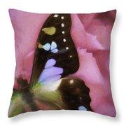 Swallowtail Dreams Throw Pillow