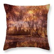 Swamp 3 Throw Pillow