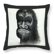 Skunkape Throw Pillow