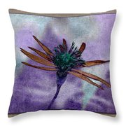 Swampflower Throw Pillow