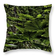 Swan Creek Foliage Throw Pillow