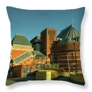 Swan Theatre Of Stratford  Throw Pillow