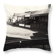 Swansea - Vetch Field - North Bank 1 - Bw - 1960s Throw Pillow