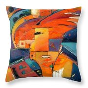 Swaying Throw Pillow