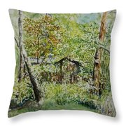 Sweden Landscape 1 Throw Pillow