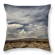 Sweeping Throw Pillow by Laurie Search