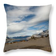 Sweeping Skyscape Throw Pillow