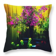 Sweet Boronia Throw Pillow