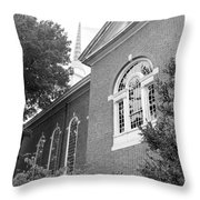 Sweet Briar Chapel Throw Pillow