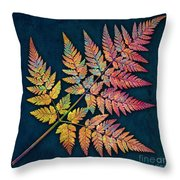 Sweet Cicely Throw Pillow