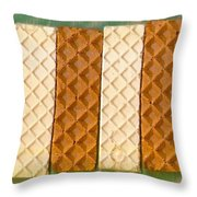 Sweet Crackers Throw Pillow