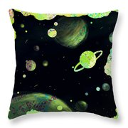 Sweet Dreams And Starry Nights Throw Pillow