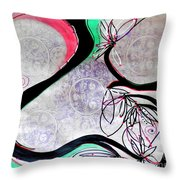 Sweet Elegance Throw Pillow