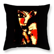 Sweet Embrace Throw Pillow