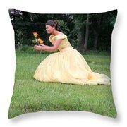 Sweet Fifteen Throw Pillow