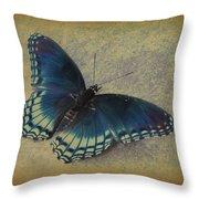 Sweet Flutterby Throw Pillow
