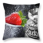 Sweet Fruits Throw Pillow