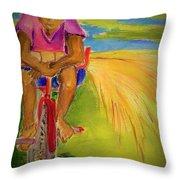 Sweet Grass Throw Pillow