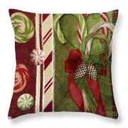 Sweet Holiday I Throw Pillow