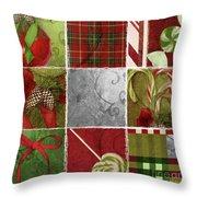 Sweet Holiday IIi Throw Pillow