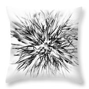 Sweet Little Willie Throw Pillow