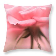 Sweet Lonesome Rose Throw Pillow