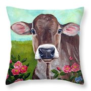 Sweet Matilda Throw Pillow